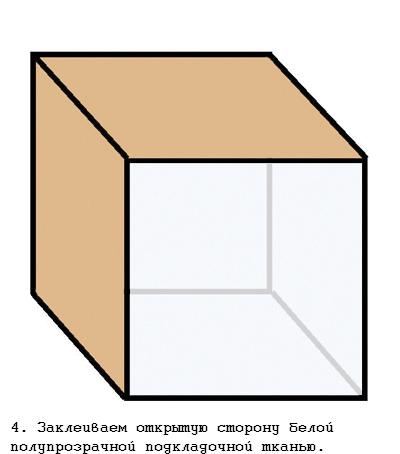 Как сделать каркас куба